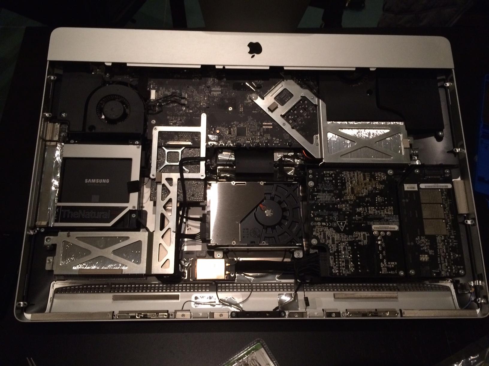 Installare SSD iMac 27″ come secondo hard-disk