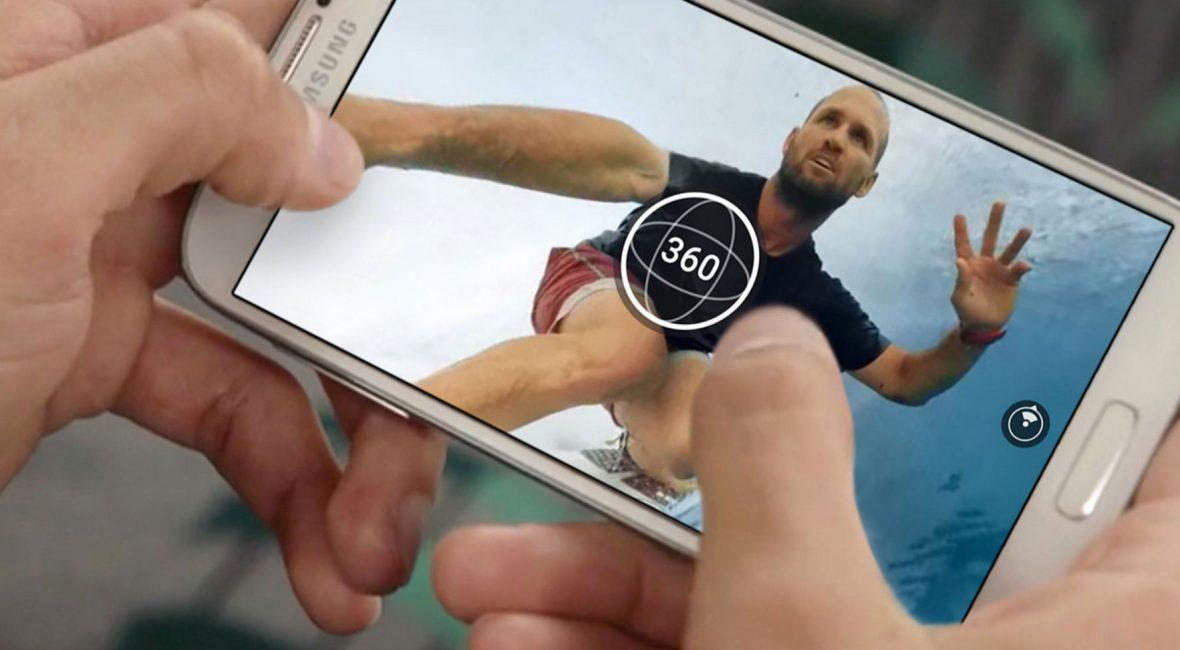Foto 360 gradi per facebook