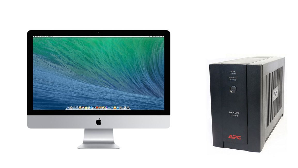 UPS per Apple iMac